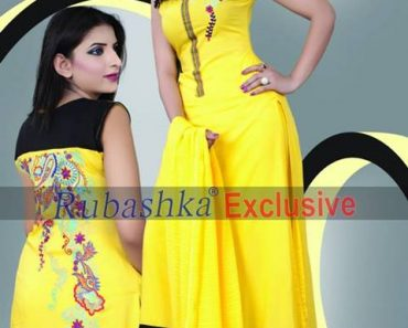 Rubashka Trendy Party Wear Winter Fashion Collection 2013-14 for Girls (7)