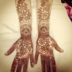 Sameena Khan's New Arabic Henna Mehndi Designs 2014 For Hands