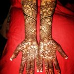 Sameena Khan's New Arabic Henna Mehndi Designs 2014 For Hands (1)