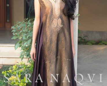 Sara Naqvi New Year Winter Dresses Collection 2014 For Women and Girls (2)