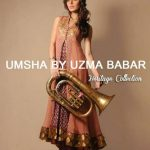 Umsha by Uzma Babar New Heritage Winter Collection 2014 Ladies