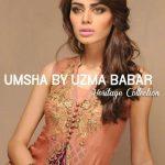 Umsha by Uzma Babar New Heritage Winter Collection 2014 Ladies (1)