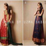 Umsha by Uzma Babar New Heritage Winter Collection 2014 Ladies (5)