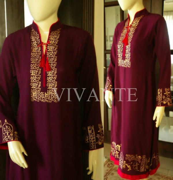 Vivante New Casual Wear Dresses Collection 2014 For Ladies (3)