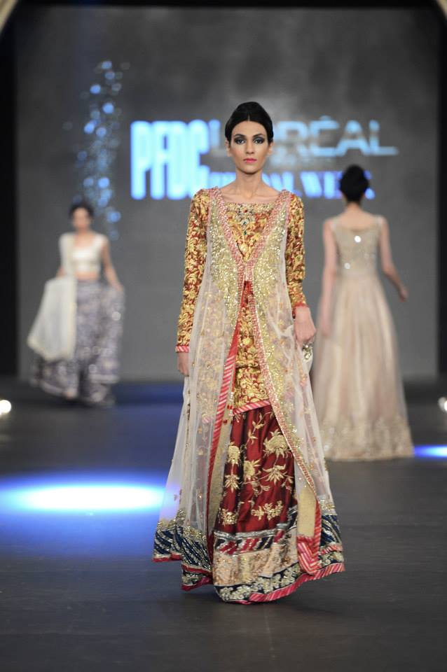 "Zara Shahjahan ""True Love"" Bridal Dress Collection 2013-14 - (4)"