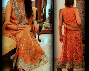 Anum Mansoor Latest Winter Formal Wear Collection 2014 For Ladies (5)