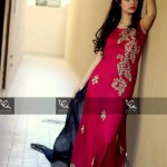 Ayesha and Usman Qamar Beautiful Party Wear Collection 2014 for Women (5)