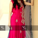 Ayesha and Usman Qamar Beautiful Party Wear Collection 2014 for Women (2)