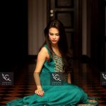 Ayesha and Usman Qamar Beautiful Party Wear Collection 2014 for Women (3)