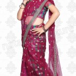 Natasha Couture Stylish Indian Sarees For Kids 2014 Collection (1)