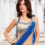 Backless Saree Blouse Designs - South India Fashion