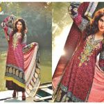 Beautiful Casual Wear Winter Dresses 2014 Eiza by UA Textile (2)