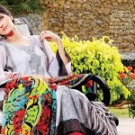 Beautiful Casual Wear Winter Dresses 2014 Eiza by UA Textile (3)