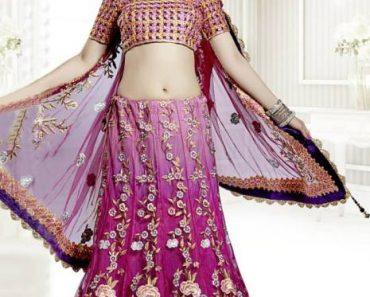 Utsav Fashion Beautiful Indian Lehenga Choli Designs 2014 For Wedding