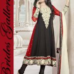 Brides Galleria Faux Chiffon Anarkali Dresses 2014 For Ladies (5)