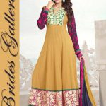 Brides Galleria Faux Chiffon Anarkali Dresses 2014 For Ladies (6)