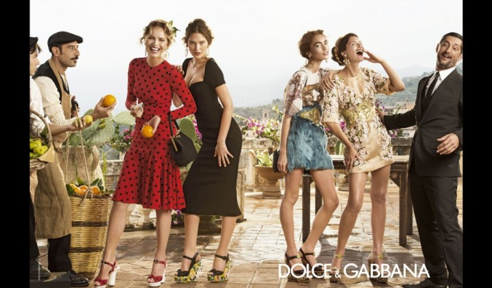 Dolce & Gabbana Latest Campaign Spring Collection 2014 For Women