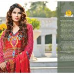 Beautiful Casual Wear Winter Dresses 2014 Eiza by UA Textile (4)