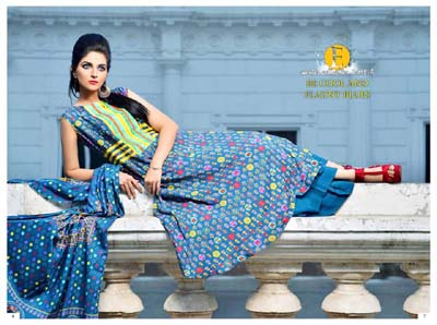 Eiza by UA Textile Latest Casual Wear Winter Dresses 2014