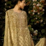 Farah and Fatima New Girls Winter Dresses 2014 For Party Wear 003