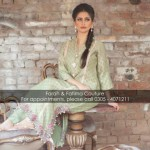 Farah and Fatima New Girls Winter Dresses 2014 For Party Wear 005