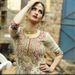 Farah and Fatima New Girls Winter Dresses 2014 For Party Wear 009