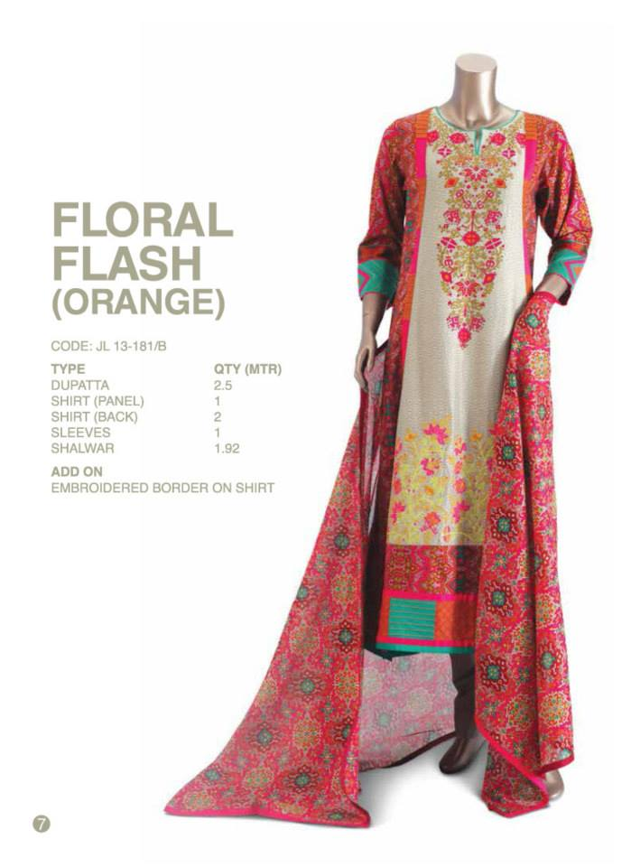 Junaid Jamshed Latest Eid Party Wear Dress Collection 2013 For Women