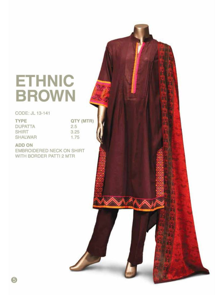 Junaid Jamshed Latest Eid Party Wear Dress Collection 2014 ...