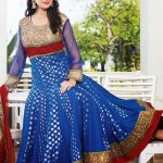 Kaneesha Party Wear Anarkali Dresses Collection 2014 For Women