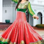 Kaneesha Party Wear Anarkali Dresses Collection 2014 For Women (6)