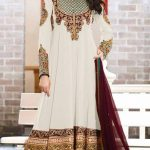 Kaneesha Party Wear Anarkali Dresses Collection 2014 For Women (1)