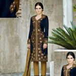 Kaneesha Party Wear Anarkali Dresses Collection 2014 For Women (4)