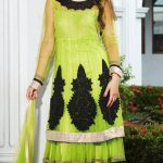 Kaneesha Party Wear Anarkali Dresses Collection 2014 For Women (5)