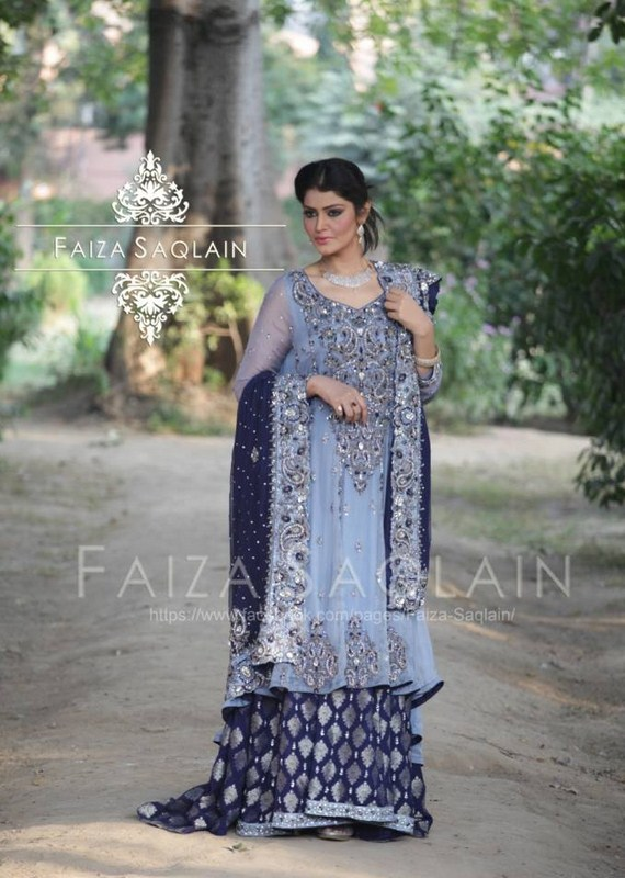 Latest Formal Wear Dresses Collection 2014-15 By Faiza Saqlain (3)