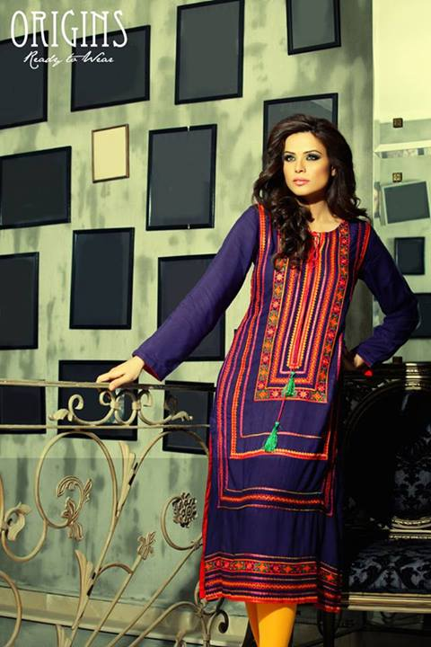 Origins Winter Girls Ready to Wear Dresses Collection 2014-2015