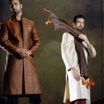 Latest Pakistani's Wedding Sherwani & Kurta 2014 Collection For Men