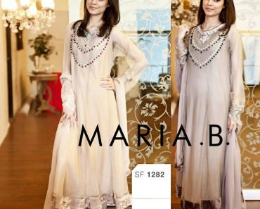 Maria B Latest Party Wear Eid Embroidered Dresses Vol 1 For Women (5)