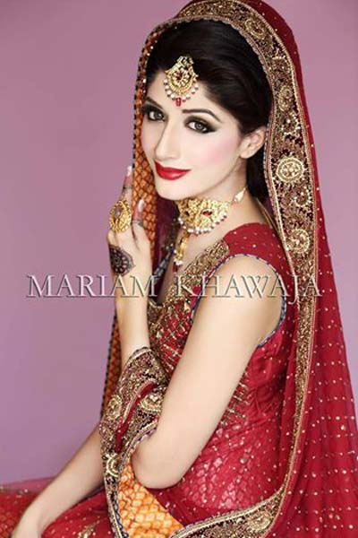 Mariam's Pakistani Bridal Make-Up Collection 2014 For Weddings (5)