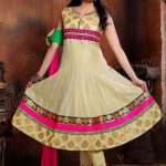 Natasha Couture Grand New Year Anarkali Dress 2014 for Girls (4)