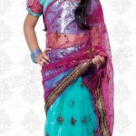Natasha Couture Stylish Indian Sarees For Kids 2014 Collection (5)
