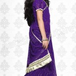 Natasha Couture Stylish Indian Sarees For Kids 2014 Collection (7)