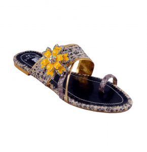 New Gul Ahmed Casual Wear Slippers Collection 2014 For Women (1)