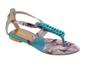 New Casual Wear Slippers Collection 2014 For Ladies By Gul Ahmed