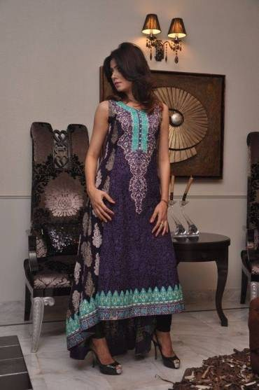 Party Wear Rozina Munib New Collection 2014 Summer For Women (6)