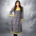 Popular Style Linen Winter Collection 2014For Girls & Women (5)