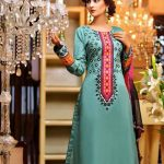 Rujhan Fabric Stylish Winter Dresses Collection For Girls (2)