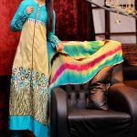 Rujhan Fabric Women Dresses 2014 For Winter
