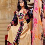 Smart Winter Dresses 2014-2015 By Rujhan Fabrics (1)