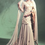 Sadaf Malaterre Latest Ghaghra Choli 2014 Collection by Saima Azhar (1)