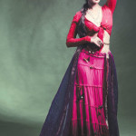 Sadaf Malaterre Latest Ghaghra Choli 2014 Collection by Saima Azhar (2)